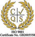 CQS Logo ISO 9001